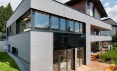 Modernes Einfamiliernhaus gedämmt mit Isocell