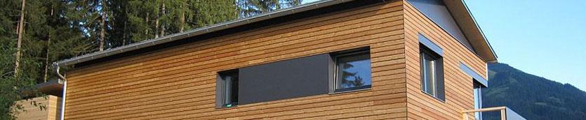 Ökologischer Dämmstoff als Isolierung – Haus in Aurach, Tirol